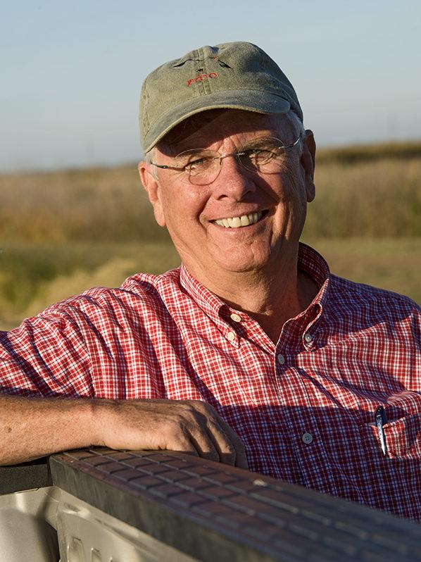 Rice farmer Don Bransford